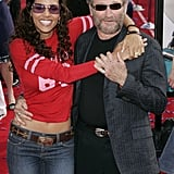 He and Halle Berry hit the red carpet together to promote their animated film Robots at the LA premiere in March 2005.