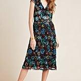 Glenna Sequined Midi Dress