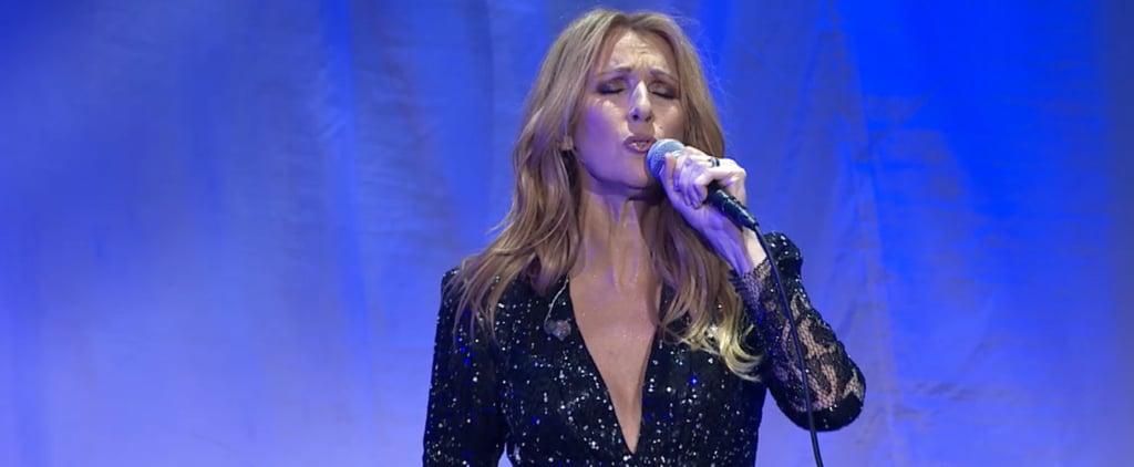 Celine Dion Returns to Stage After Husband's Death