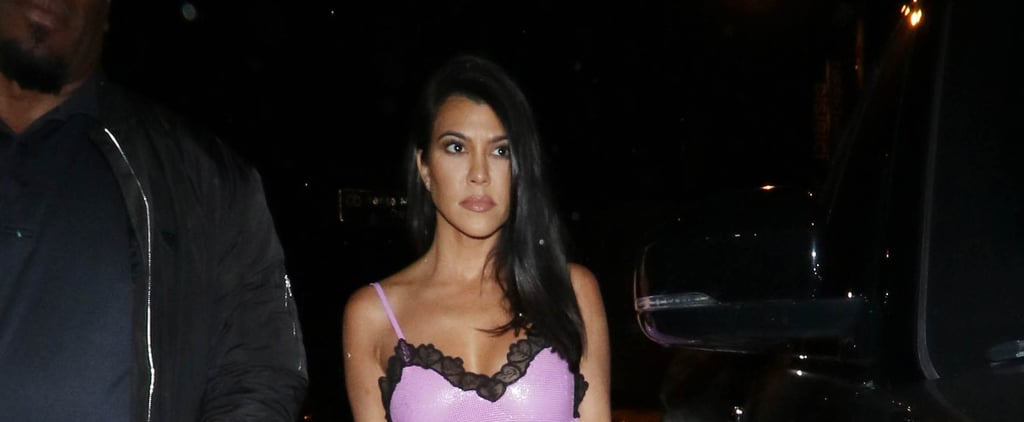 Kourtney Kardashian's Neon Green Nail Polish