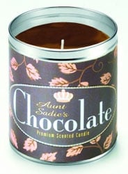 Aunt Sadie's Chocolate Candle