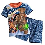 Disney Maui and Kakamora PJ PALS Short Set
