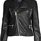 Scoop Vegan Leather Biker Jacket