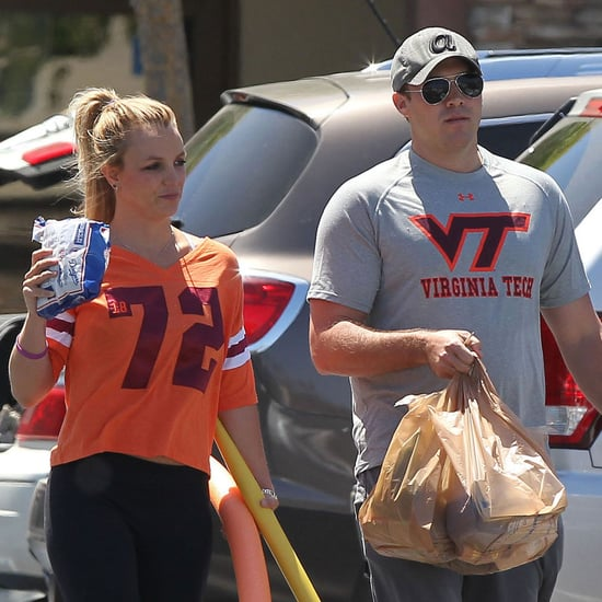Britney Spears and David Lucado Go Grocery Shopping