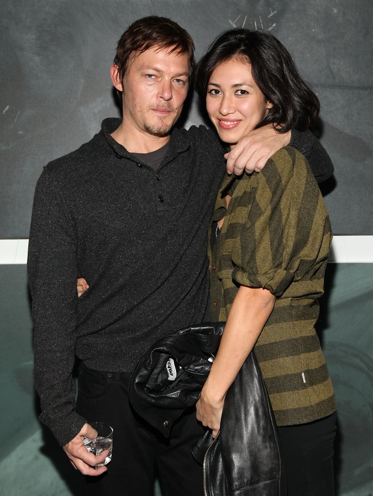 Who is norman reedus dating now