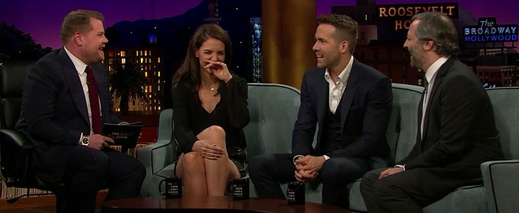 Katie Holmes Talks Dawson's Creek on The Late Late Show 2016