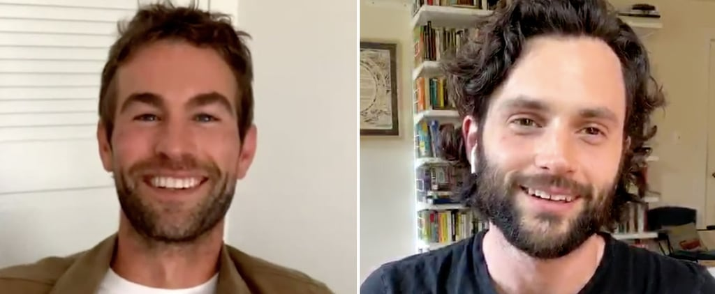 Watch Penn Badgley and Chace Crawford's Gossip Girl Reunion