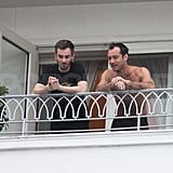 Jude Law Takes a Shirtless Break From Partying and Kissing at Carnival