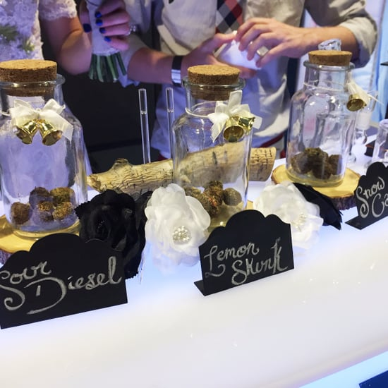 How to Have a Weed Bar at Your Wedding