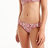 What's a better way to show off your hips than to draw attention to them with ruffles? This J.Crew Ruffle Surf Hipster bikini bottom ($58) works for the playful gal.