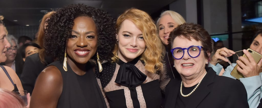 "Emma Stone Addresses the ""Exciting"" and ""Jarring"" #MeToo Moment at a Pre-Oscars Soirée"