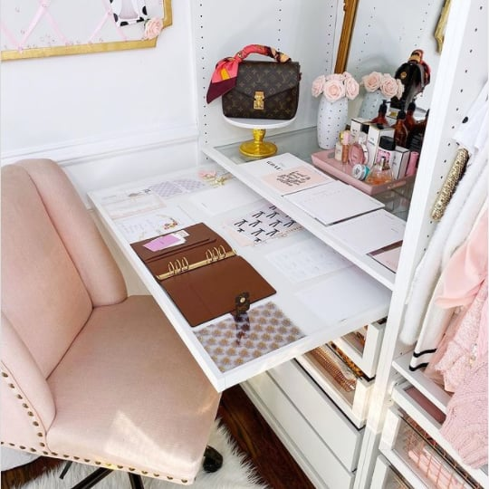 Ideas For Making a Cloffice, or a Closet Office, at Home