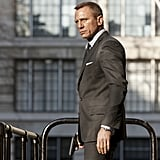 James Bond (Daniel Craig) doesn't believe in concealing weapons.