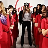 Elle Macpherson Helps Launch Virgin Blue Designer Uniform