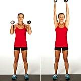 Superset 2, Exercise 1: Overhead Shoulder Press