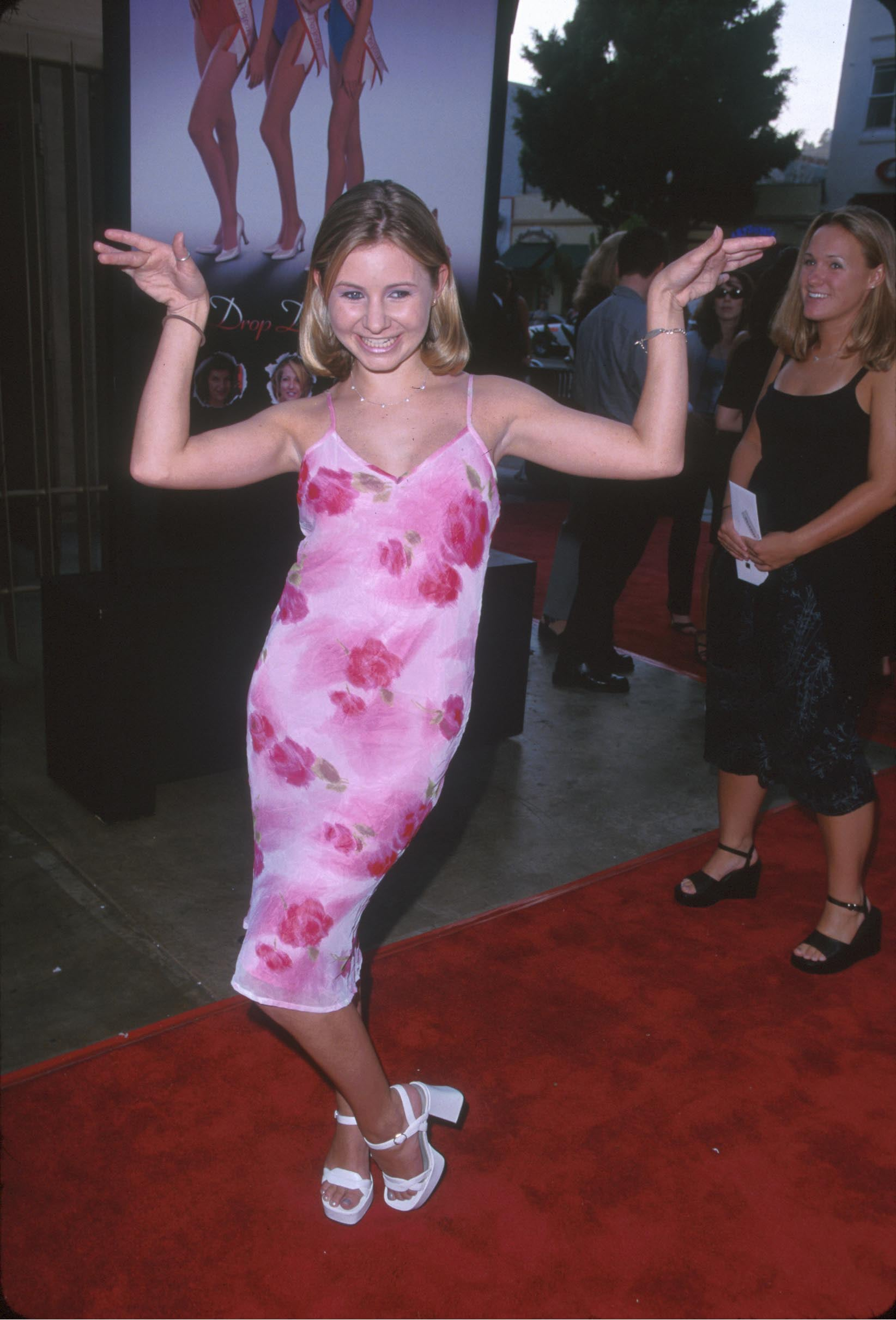 Beverley Mitchell Brought the Sass and the Chunky Platforms