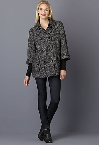 Calvin Klein Double-Breasted Pea Coat ($160, originally $230)