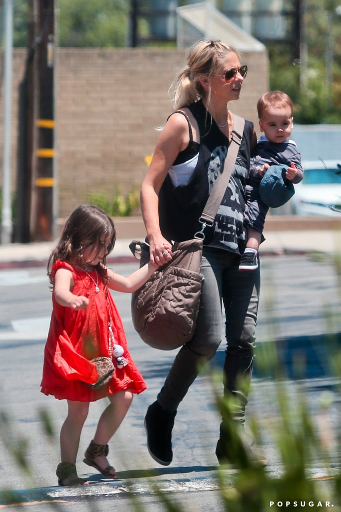 Sarah Michelle Gellar took her son, Rocky Prinze, out for a day in LA.