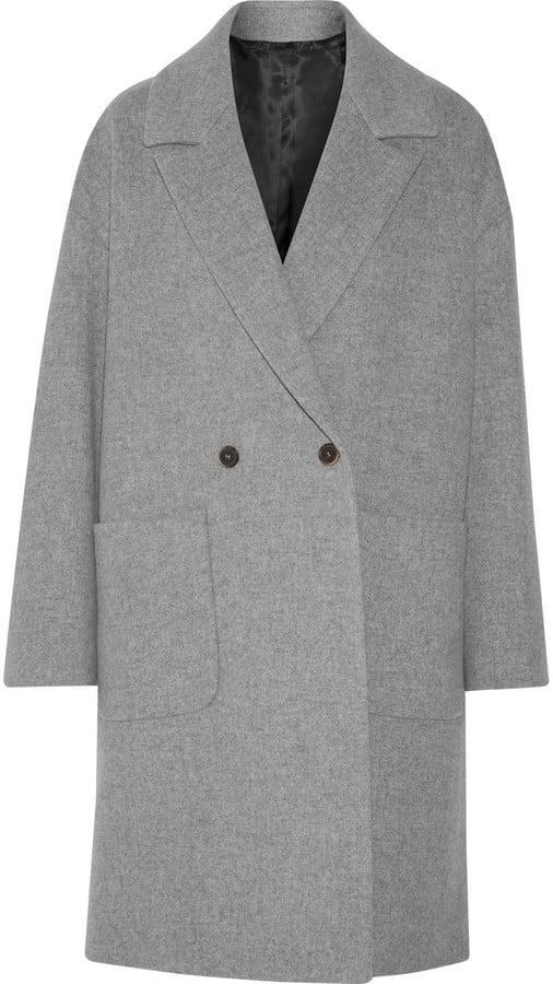 MSGM Wool-Blend Coat ($900)