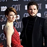 Kit Harington Rose Leslie at Game of Thrones Premiere 2019