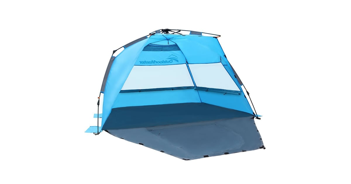 new arrival 6aeab e4288 OutdoorMaster Pop Up Beach Tent | Best Family Beach Tents ...
