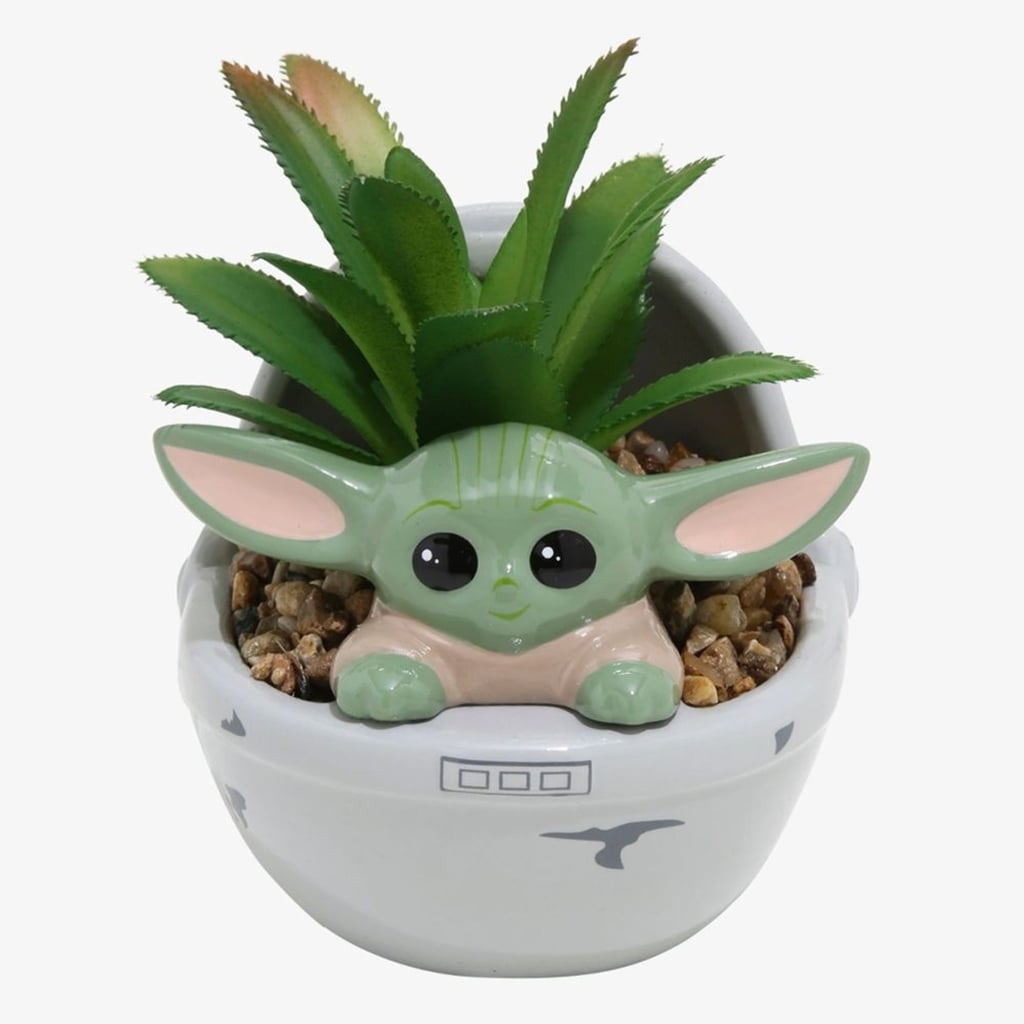 This Baby Yoda Succulent Planter Is Too Adorable Popsugar Home Australia