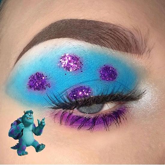 Disney Pixar-Inspired Eyeshadow Looks on Instagram