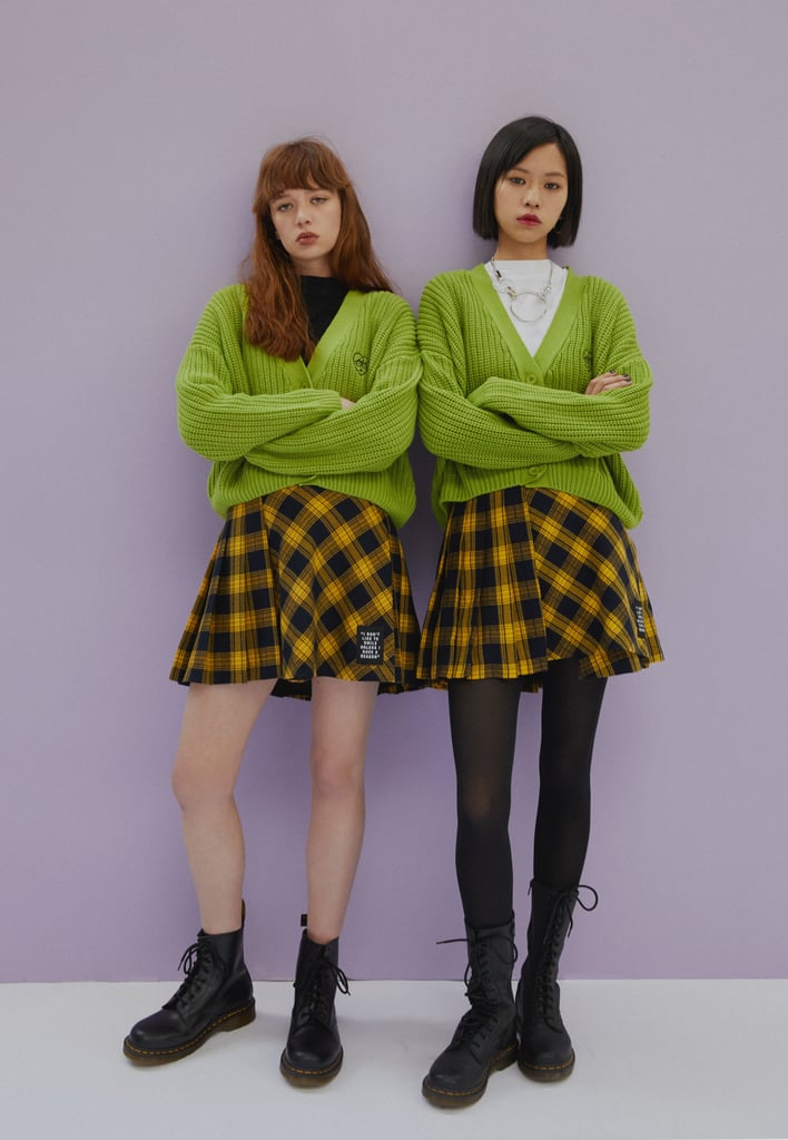 "Lazy Oaf just released a Daria-inspired collection, and, to quote the misanthropic character, ""I'm overcome with emotion."" The range of apparel, outerwear, and accessories is a nostalgic nod to the animated MTV series, which first premiered over two decades ago. While there's a lot to love about this collection, our favorite might be Lazy Oaf's replication of Quinn's pink shirt, as well as the green cardigan featuring Daria's face in place of a logo. The collection might also offer a quick solution for a last-minute Halloween costume that fans can wear beyond the holiday. Already available online, prices range from $19 for a pin pack to $155 for a cozy shearling jacket. Check out the cartoonish campaign ahead, and then browse through the entire collection.       Related:                                                                                                           Be a '90s Girl in a '90s World This Halloween With These 33 Superfly Costume Ideas"