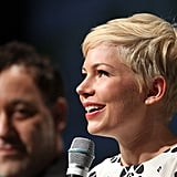 Michelle Williams promoted Oz: The Great and Powerful at Comic-Con.