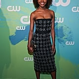Ashleigh Murray's Curly Bob Haircut in 2016