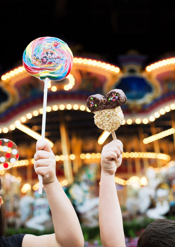 Enjoying Disney treats