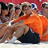 Rafael Nadal hang out in Majorca.