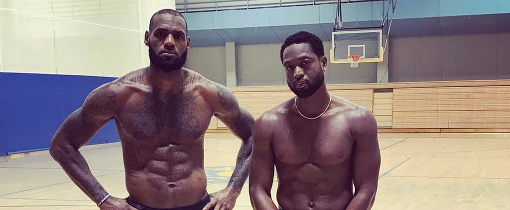 LeBron James and Dwyane Wade Are Thirst-Trapping, and We Want to Squeeze in the Middle