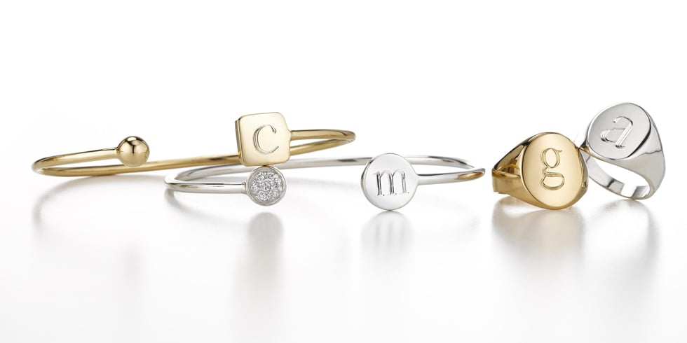 Sarah Chloe And Gwyneth Paltrow Monogram Jewellery Line