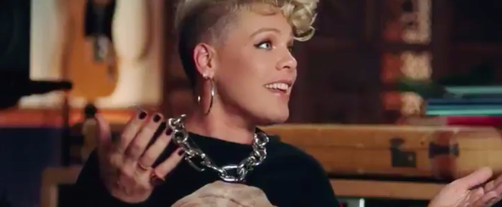 """The Parenting Blunder Caught on Tape That Made Pink Respond, """"Ah, Sh*t!"""""""