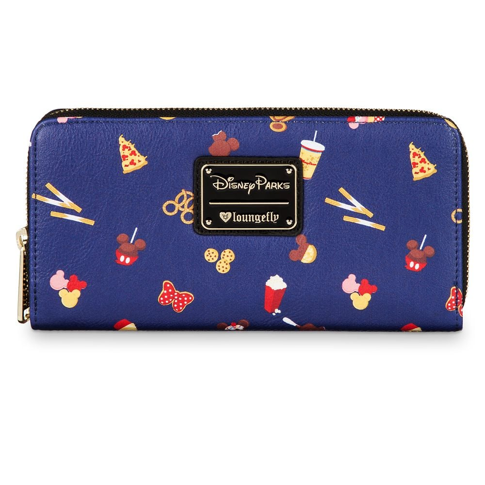 Disney Parks Food Icons Wallet by Loungefly