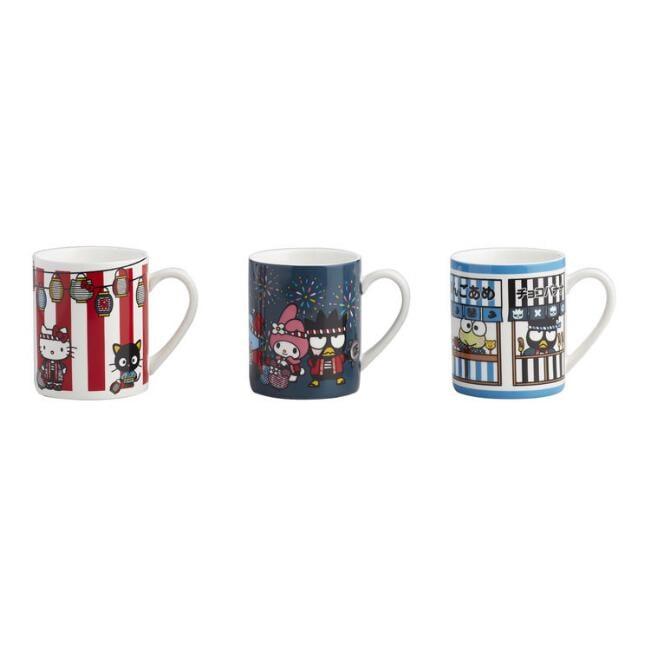 Hello Kitty and Friends Omatsuri Mug Set