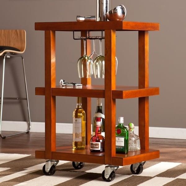 Upton Home Clover Chic Bar Cart ($207)