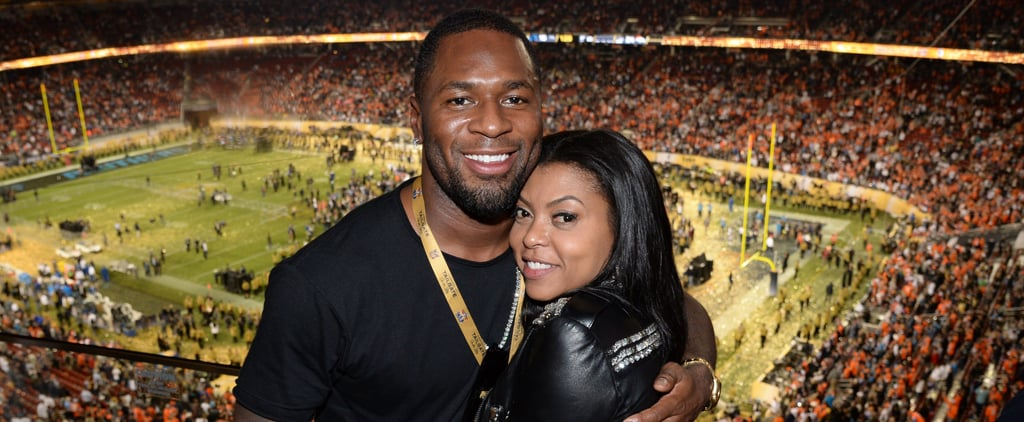 Taraji P. Henson and Kelvin Hayden Cute Pictures