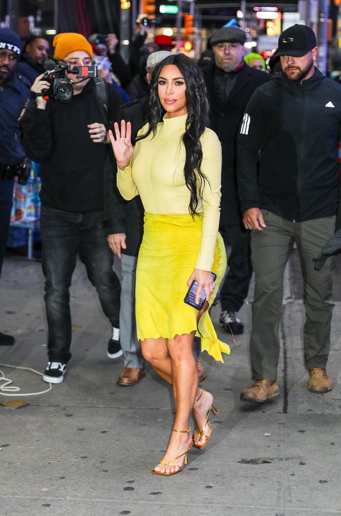 Kim Kardashian at Good Morning America in New York City