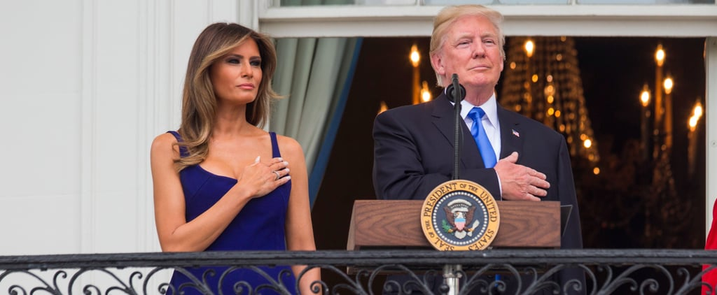 Melania Trump's Fourth of July Dress Was Fashion Forward and Patriotic All at Once