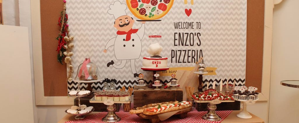 Cool Pizza Birthday Party For Kids