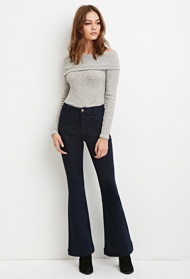 Forever 21 High-Waisted Flared Jeans ($30)