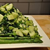 Asparagus, Cucumber, and Scallion Salad