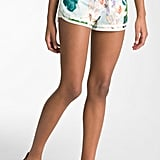 Juicy Couture paradise-print cotton running short ($118)