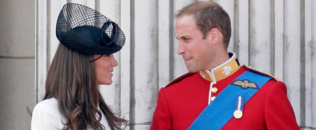 Prince William and Kate Middleton Trooping the Colour Photos
