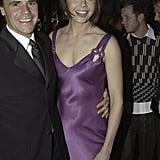 Anugus Hawley and Antonia Kidman, April 2002