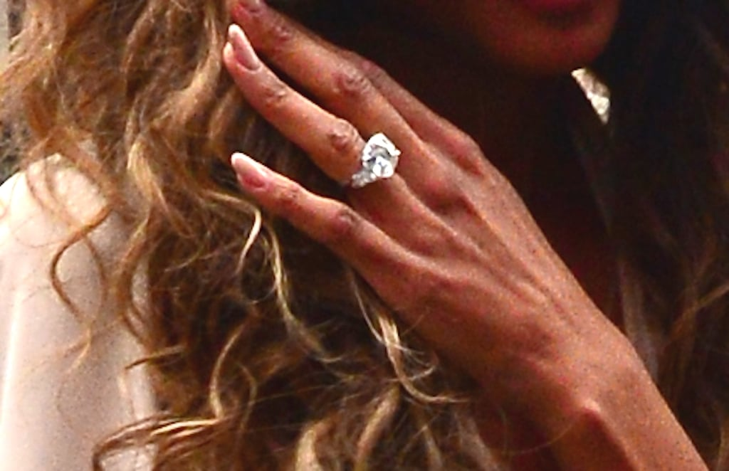 Ciara Showing Engagement Ring in NYC April 2016 POPSUGAR Celebrity