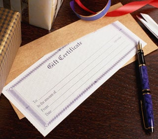 Would You Want a Spa Gift Certificate For the Holidays? 2009-12-12 04:00:07