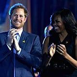When Harry and Michelle Obama Opened the Invictus Games